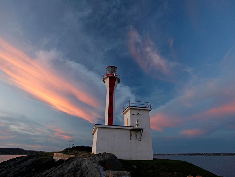 Cape Forchu at Sunset