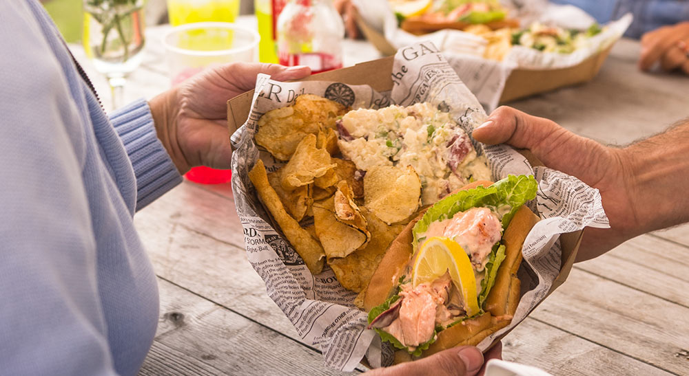 Lobster Roll at The Keepers Kitchen