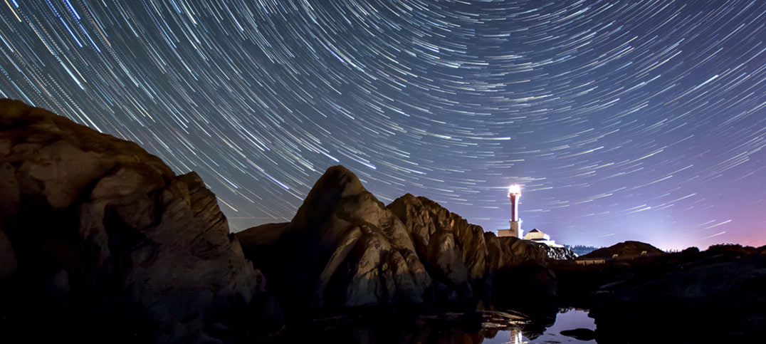 Stargazing at Cape Forchu